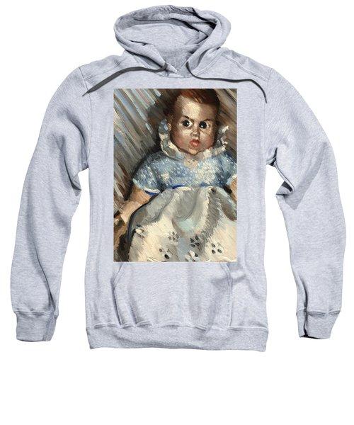 Vintage Baby Art Print Sweatshirt