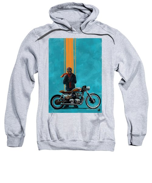 Vintage Cafe Racer  Sweatshirt