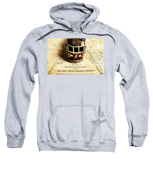 Vintage Railways And Tramways Sweatshirt