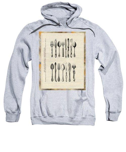 Vintage Silverware Sweatshirt