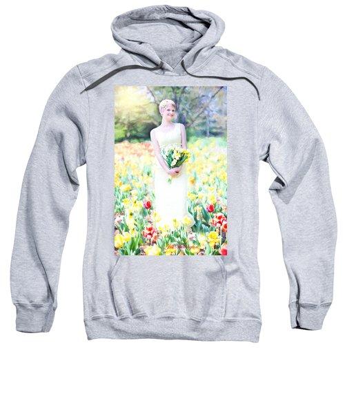 Vintage Val Spring Tulips Sweatshirt