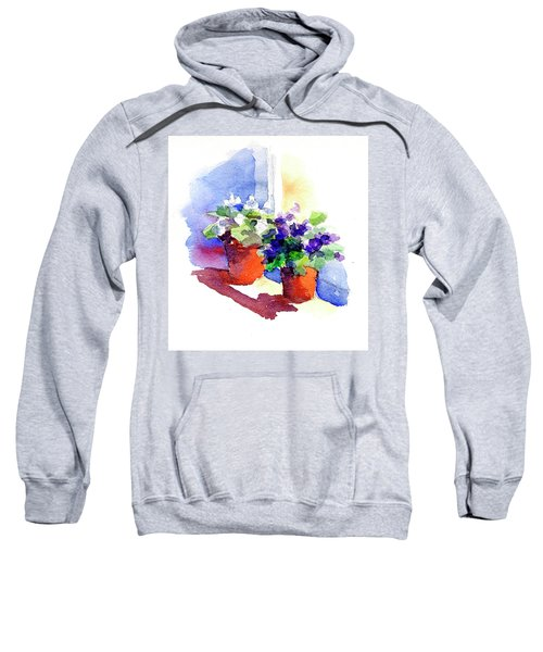 Violets Are Blue Sweatshirt