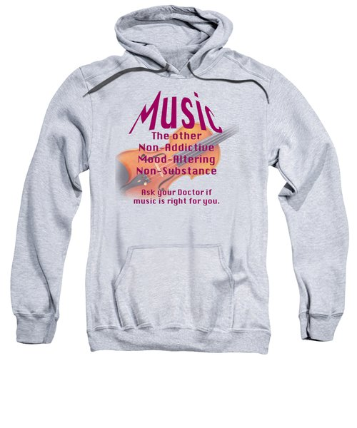 Violin Or Viola Music Is Right For You 5499.02 Sweatshirt by M K  Miller