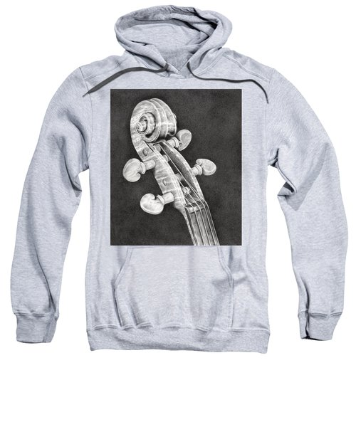 Violin Scroll Sweatshirt