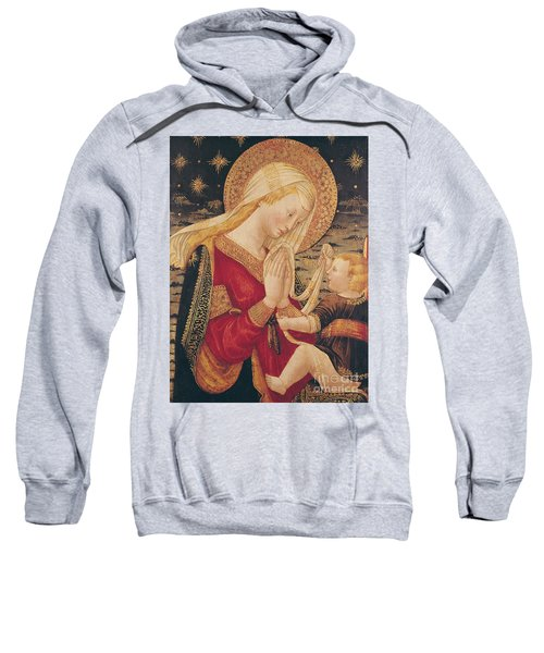 Virgin And Child  Sweatshirt