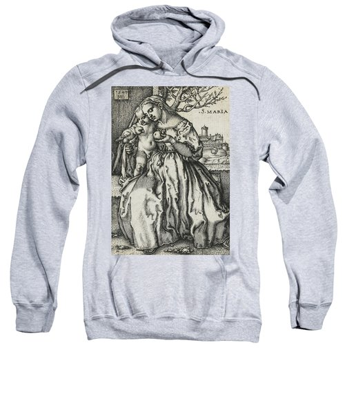 Virgin And Child With A Parrot Sweatshirt