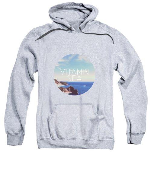 Vitamin Sea Sweatshirt by Alexandre Ibanez