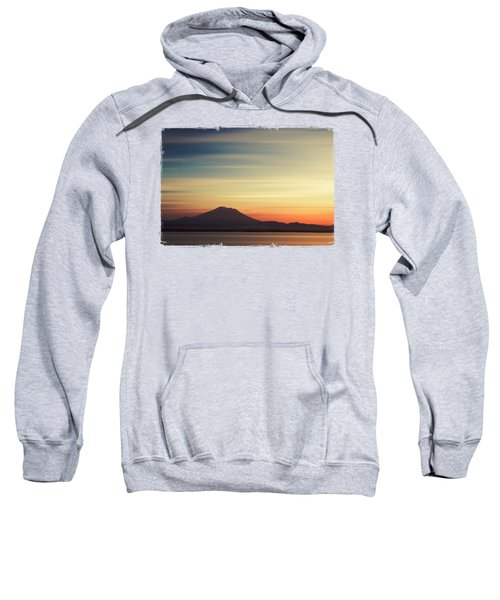 Volcano At Dawn - Gunung Agung Bali Sweatshirt