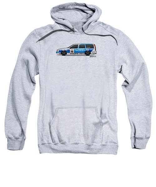 Volvo 850r Twr British Touring Car Championship  Sweatshirt by Monkey Crisis On Mars