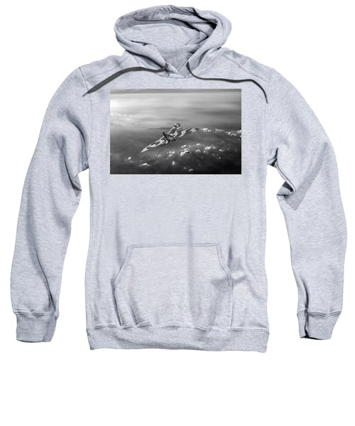 Vulcan Over The Channel Black And White Version Sweatshirt