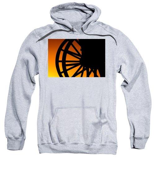 Wagon Wheel Sunset Sweatshirt