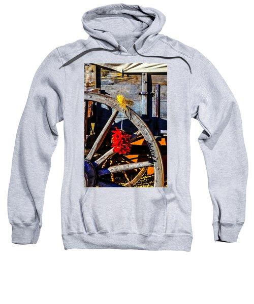 Wagon Wheel With Chili Peppers Sweatshirt