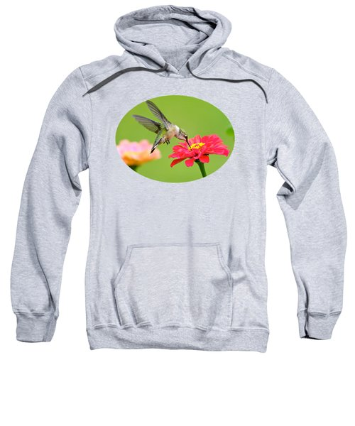 Waiting In The Wings Sweatshirt by Christina Rollo