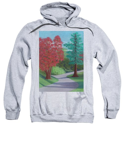 Waking Up - With Quote Sweatshirt