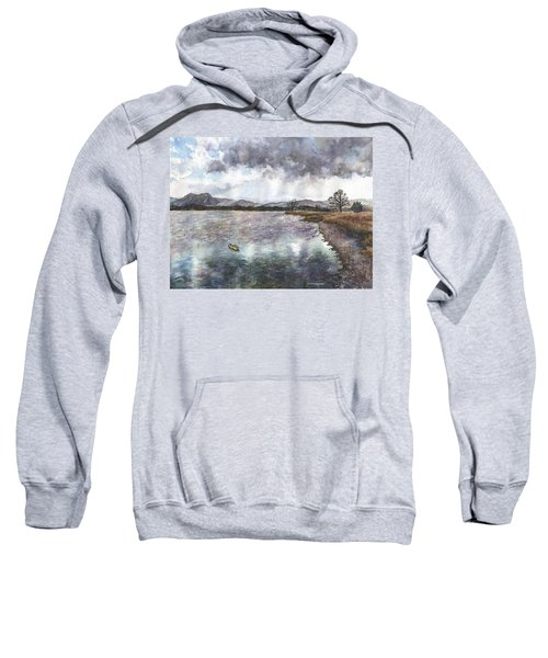 Walden Ponds On An April Evening Sweatshirt