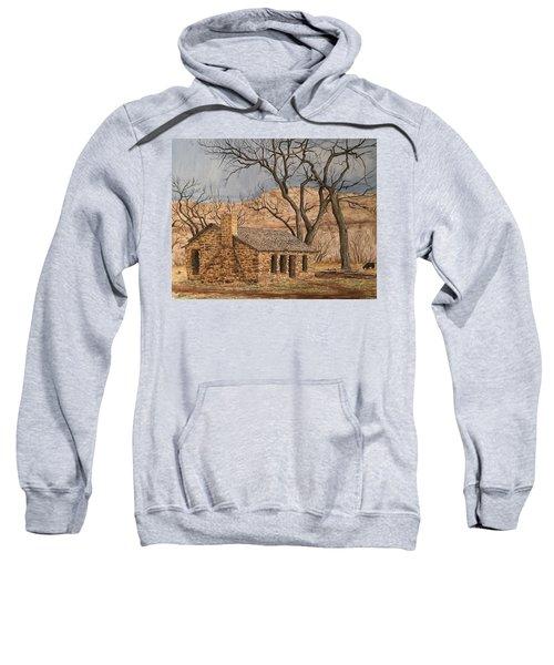 Walker Homestead In Escalante Canyon Sweatshirt