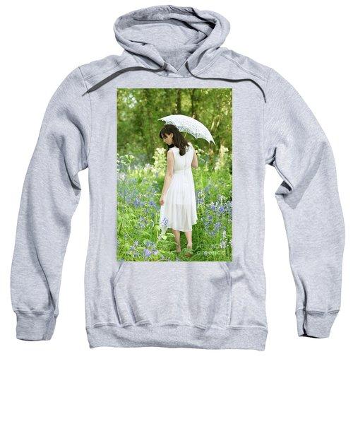 Walking Amongst Bluebells Sweatshirt