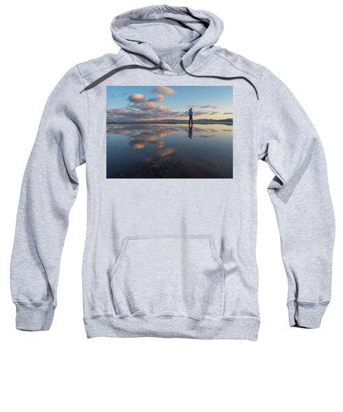 Walking In The Sunset Sweatshirt