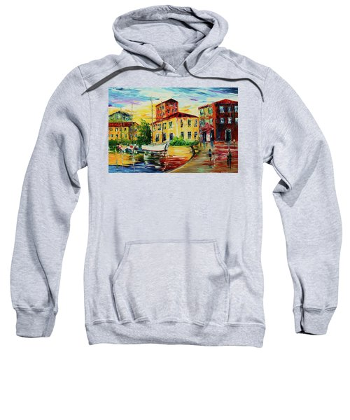 Walking The Harbor Sweatshirt