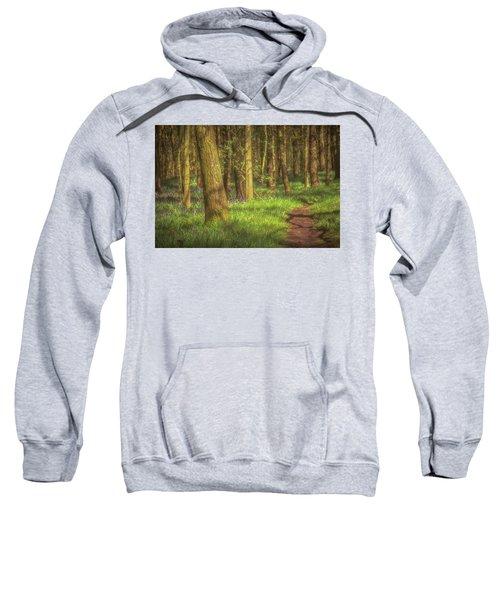 Walking Through The Bluebell Wood Sweatshirt