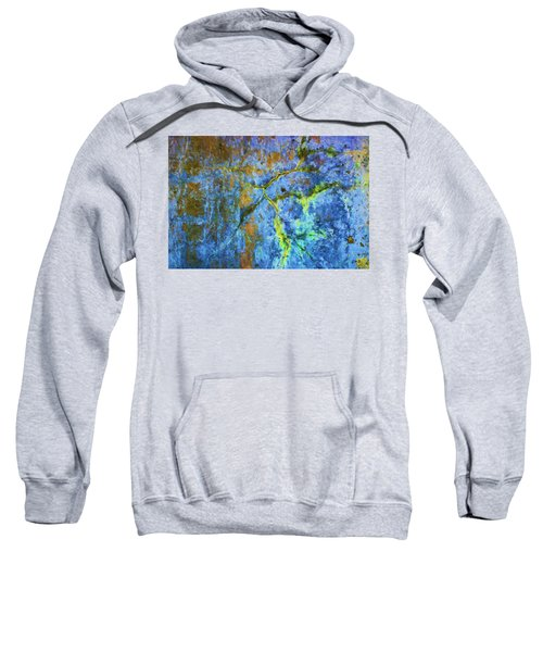 Wall Abstraction I Sweatshirt