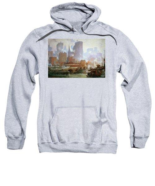 Wall Street Ferry Ship Sweatshirt