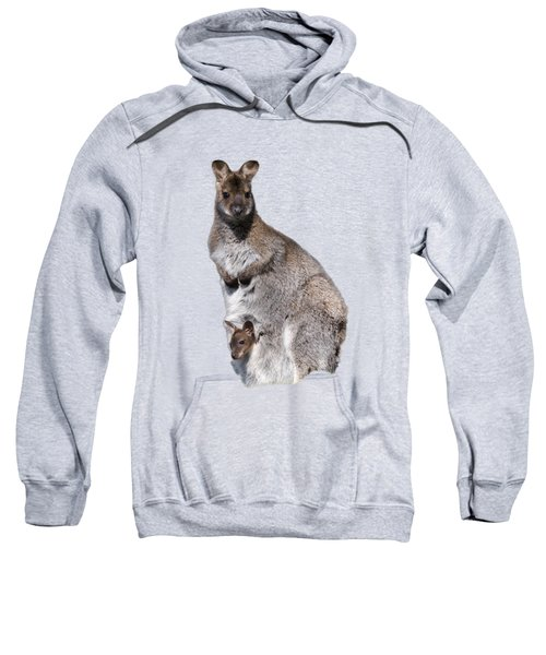 Wallaby Sweatshirt by Scott Carruthers