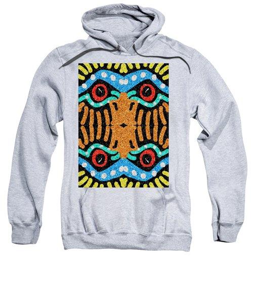 War Eagle Totem Mosaic Sweatshirt