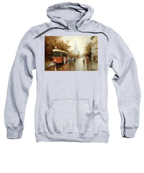 Warm Moscow Autumn Of 1953 Sweatshirt