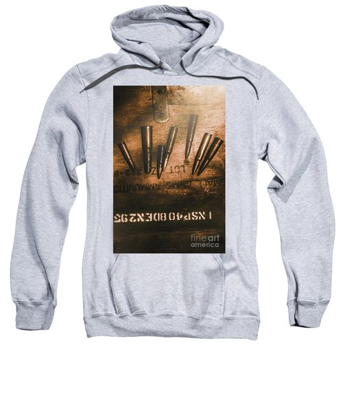 Wars And Old Ammunition Sweatshirt