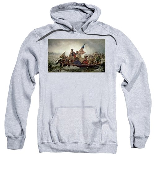 Washington Crossing The Delaware River Sweatshirt