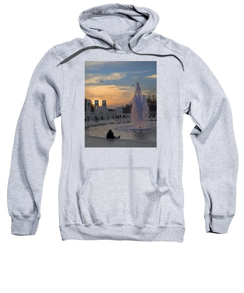 Washington Dc Rhythms  Sweatshirt by Betsy Knapp