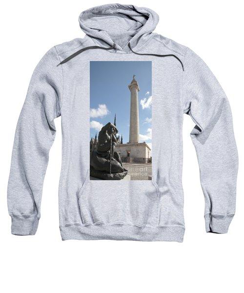 Washington Monument In Baltimore Sweatshirt