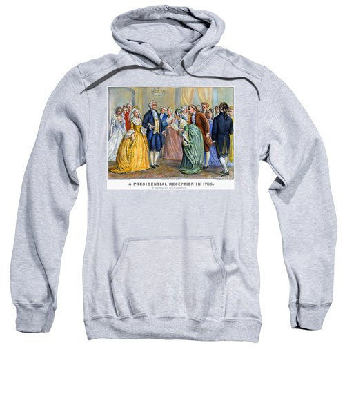 Washington Reception, 1789 Sweatshirt