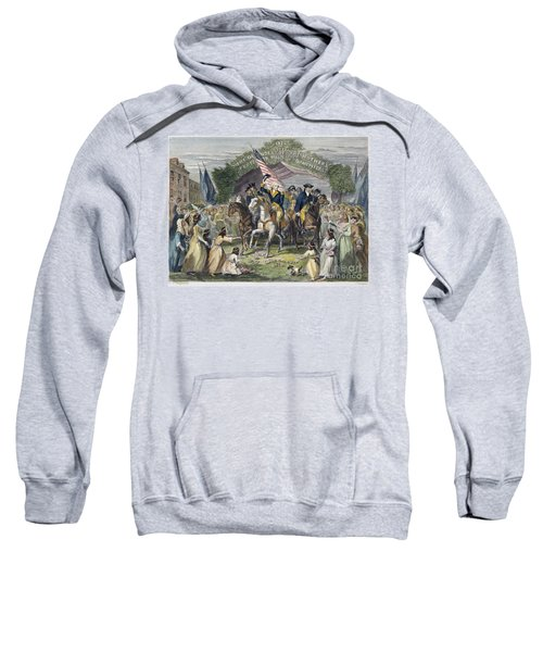 Washington: Trenton, 1789 Sweatshirt