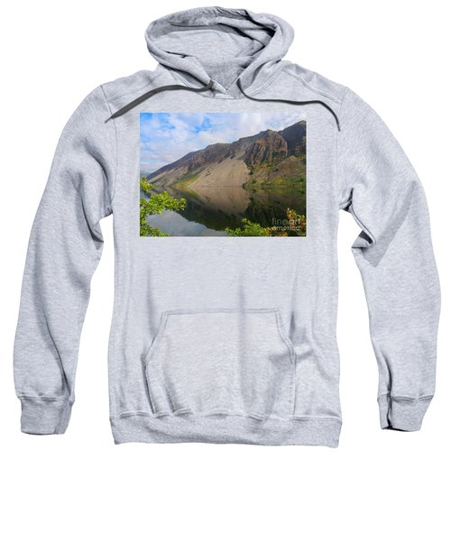 Wastwater Screes In Lake District National Park Sweatshirt