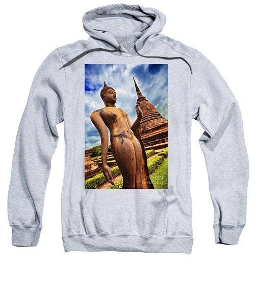 Wat Sra Sri In Sukhothai Thailand Southeast Asia Sweatshirt