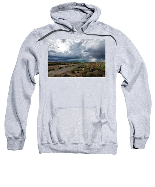Watching The Storms Roll By Sweatshirt