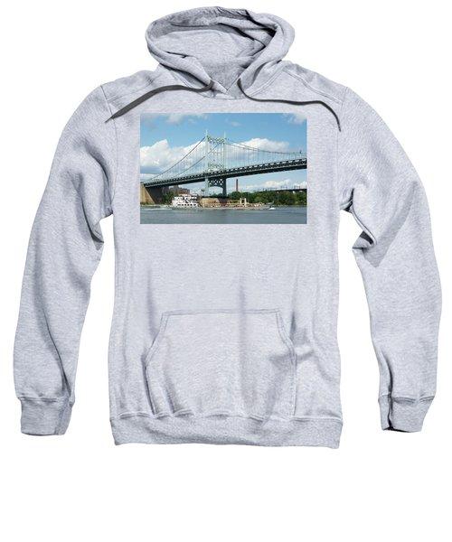 Water And Ship Under The Bridge Sweatshirt