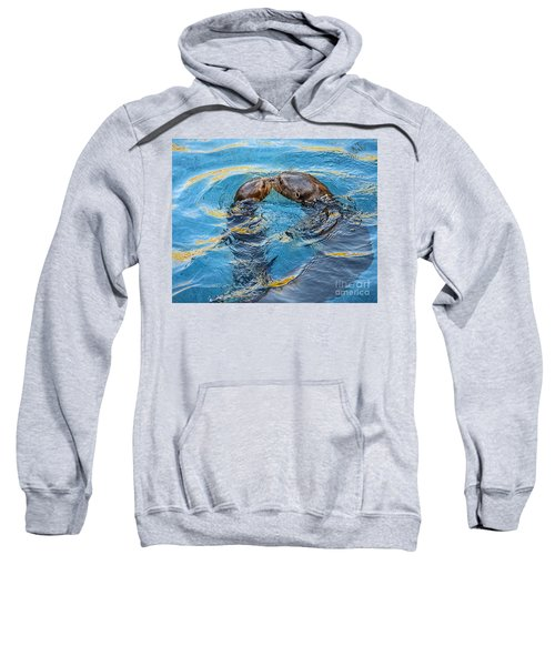 Water Kisses Sweatshirt by Jamie Pham
