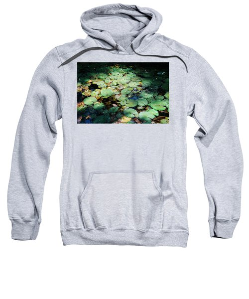 Water Lillies Sweatshirt