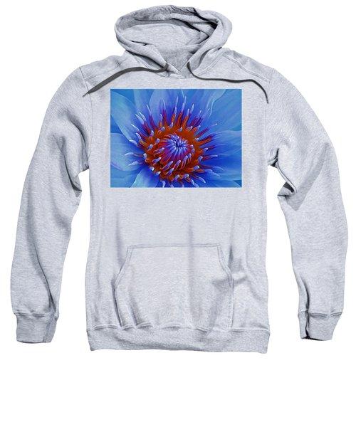 Water Lily Center Sweatshirt