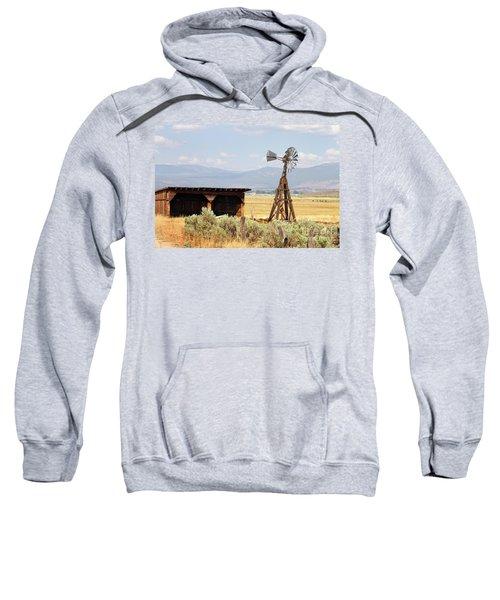 Water Pumping Windmill Sweatshirt