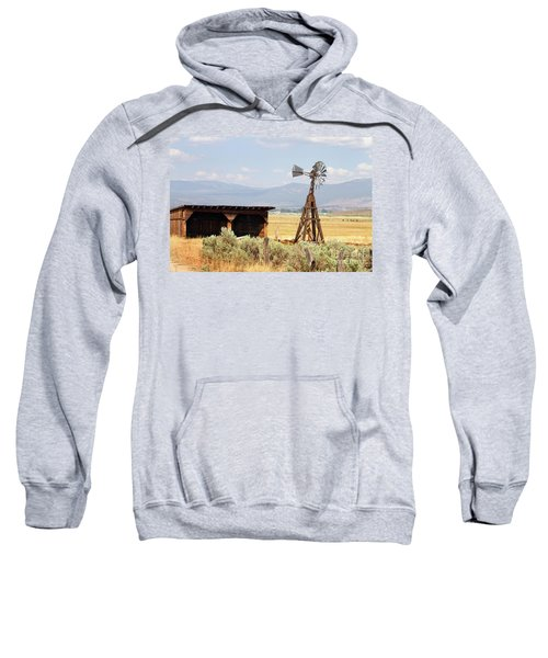 Water Pumping Windmill Sweatshirt