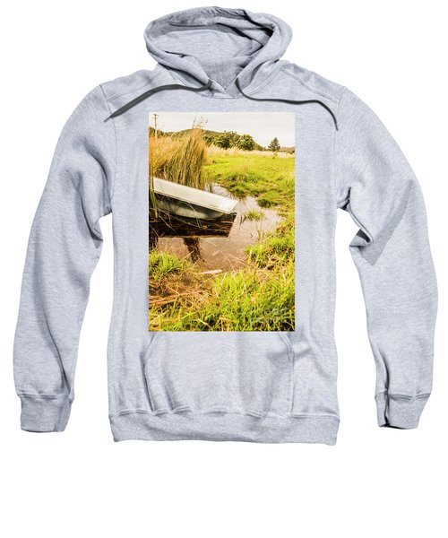 Water Troughs And Outback Farmland Sweatshirt
