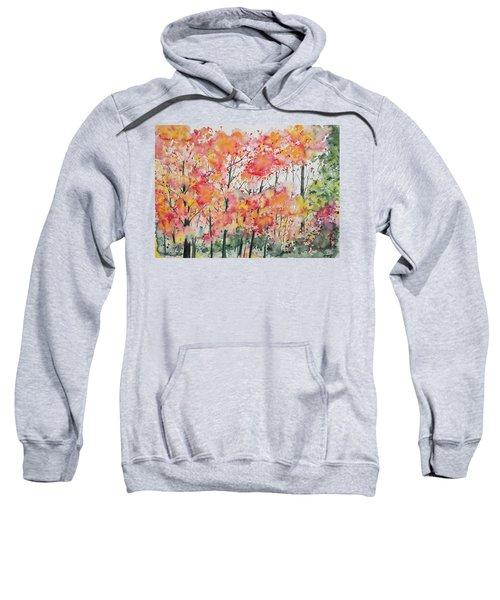 Watercolor - Autumn Forest Sweatshirt