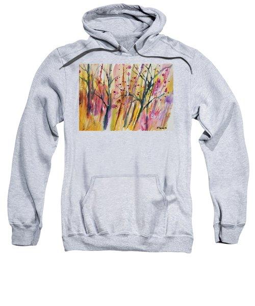 Watercolor - Autumn Forest Impression Sweatshirt