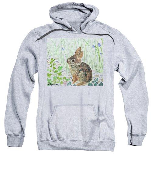 Watercolor - Baby Bunny Sweatshirt