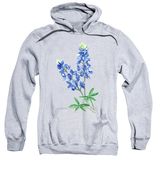 Watercolor Bluebonnets Sweatshirt