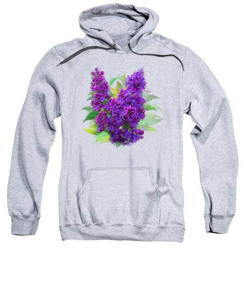 Watercolor Lilac Sweatshirt